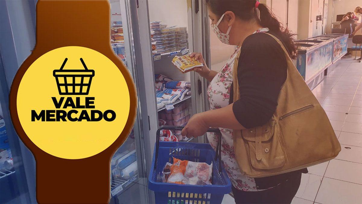 Cadastro Vale Mercado de R$ 150,00