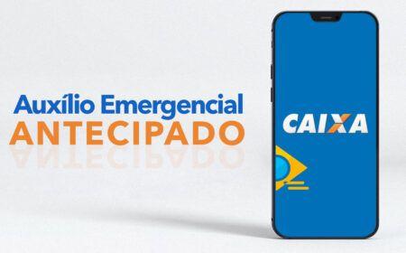 Caixa ANUNCIA ANTECIPAÇÃO das PARCELAS do Auxílio Emergencial: Veja o PASSO a PASSO de como RECEBER o PAGAMENTO ANTECIPADO!