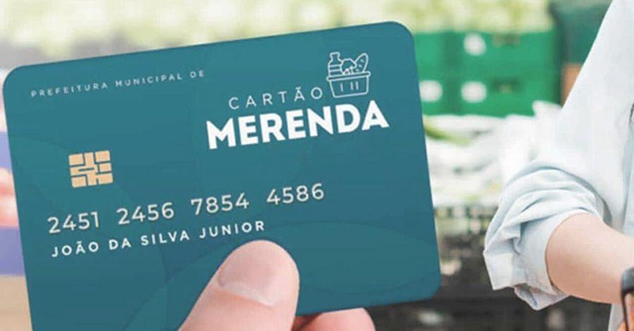 Cartão Merenda 2021