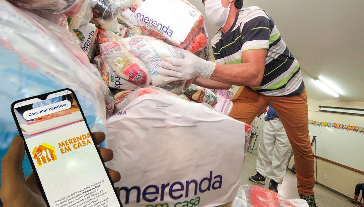 Começa HOJE os PAGAMENTOS do Auxílio Merenda para ALUNOS da REDE ESTADUAL