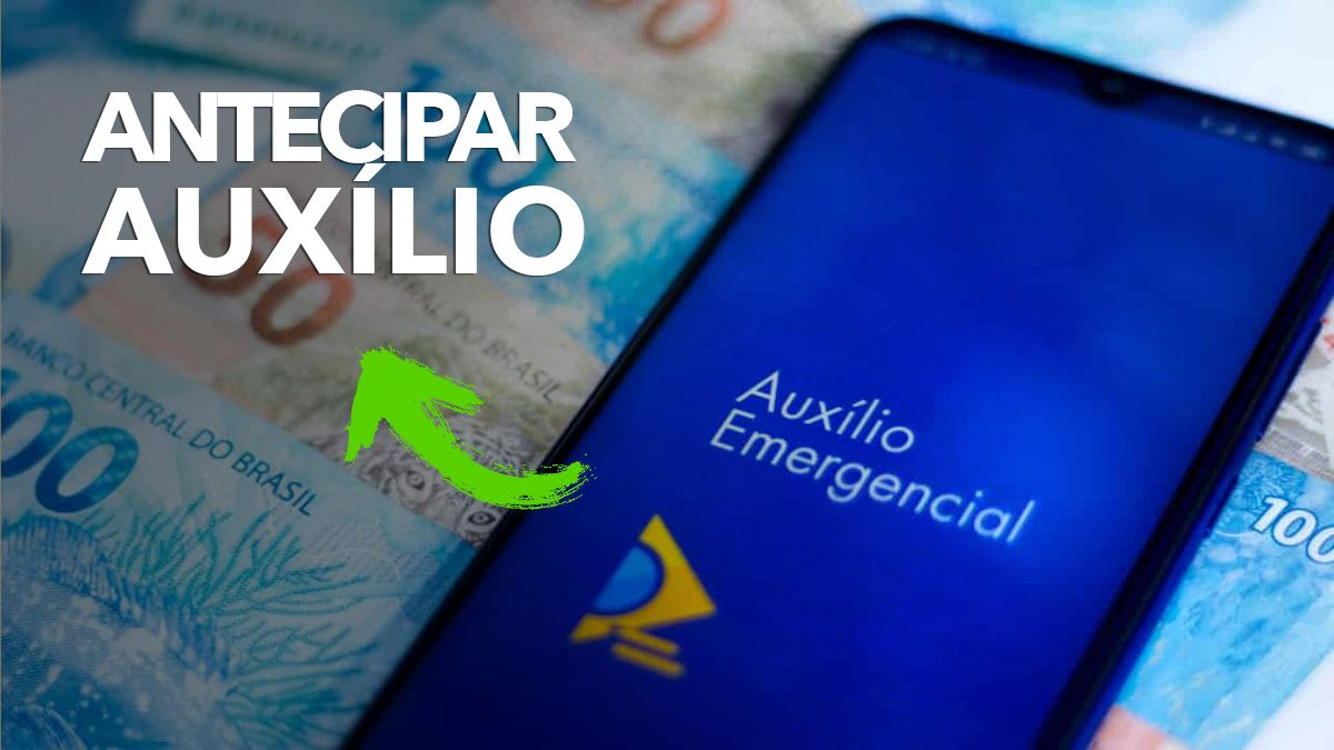 Conta DIGITAL ANTECIPA Auxílio e LIBERA SAQUE em ABRIL