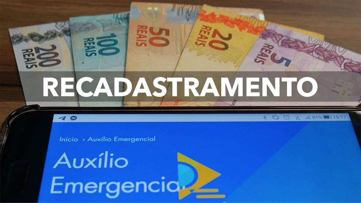 DATAPREV RECADASTRAMENTO Auxílio Emergencial 2021