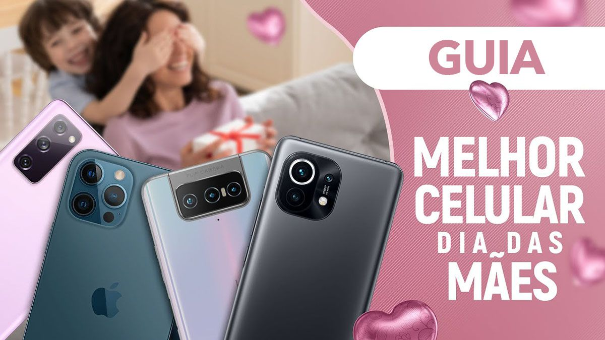 Data dia das Mães 2021: Conheça o melhor celular para presente