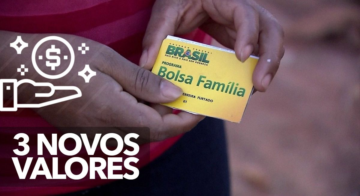 Inscritos no BOLSA FAMÍLIA vão receber 3 NOVOS VALORES de PAGAMENTOS