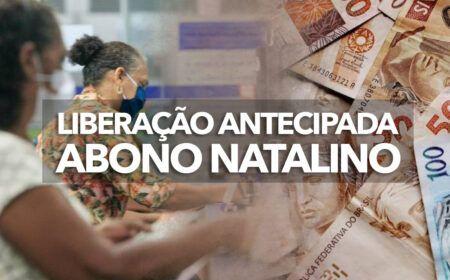 LIBERAÇÃO ANTECIPADA do ABONO NATALINO para APOSENTADOS e PENSIONISTAS em 2021: Calendário de SAQUE em ABRIL já está DISPONÍVEL