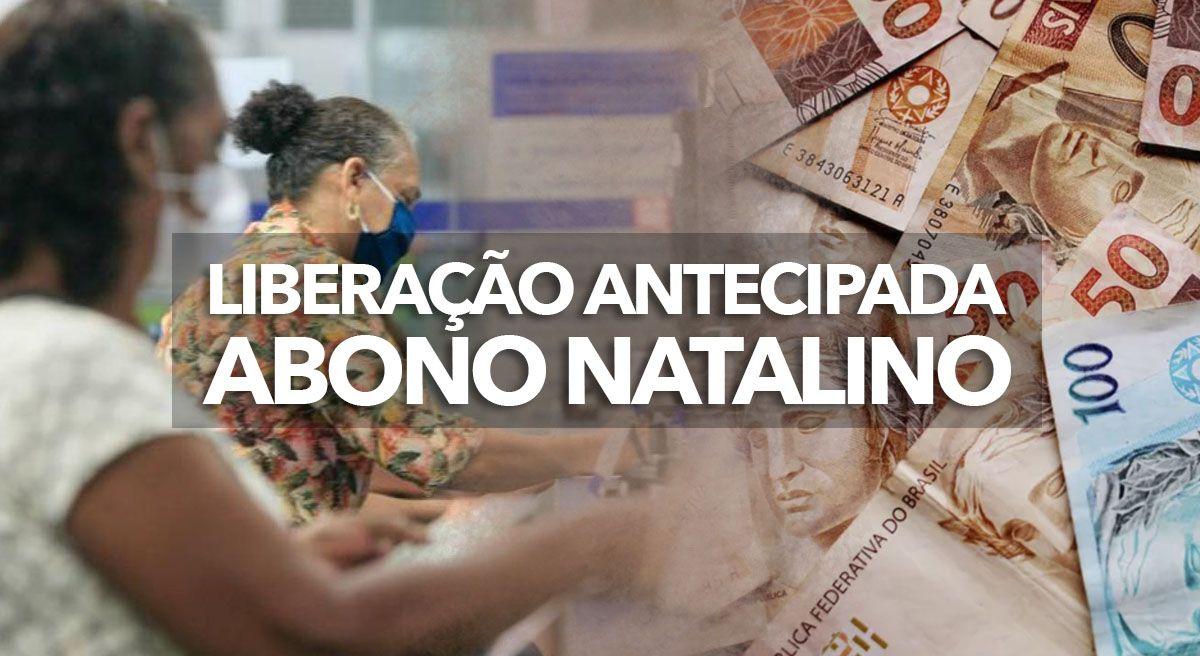 LIBERAÇÃO ANTECIPADA do ABONO NATALINO para APOSENTADOS e PENSIONISTAS em 2021