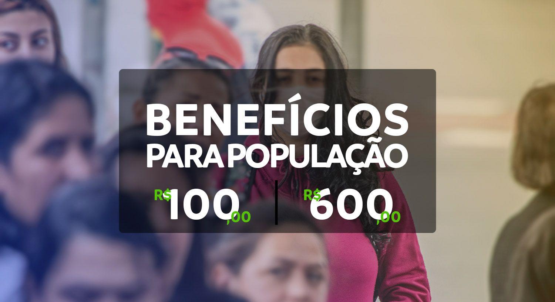 LIBERADO em 15 ESTADOS: BENEFÍCIOS para a POPULAÇÃO com valores de R$ 100,00 a R$ 600,00