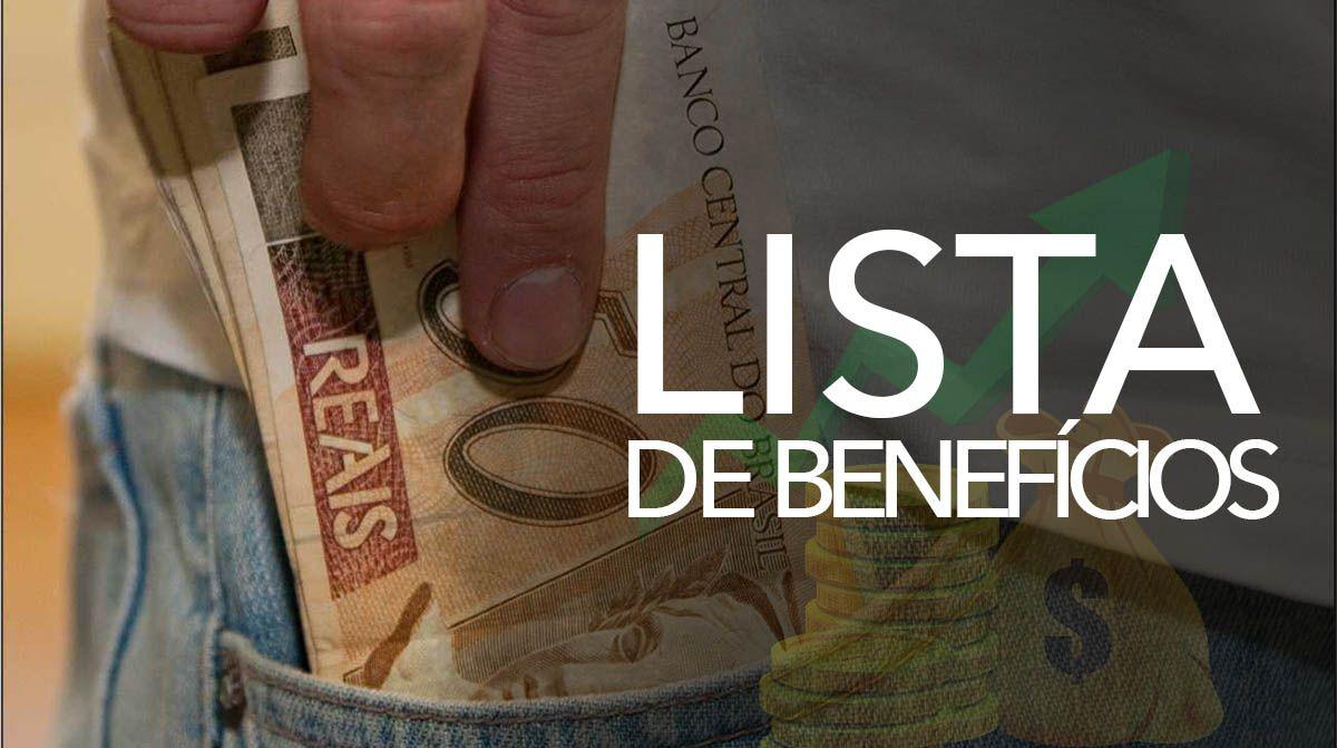 Lista de Benefícios LIBERADOS em ABRIL que você tem DIREITO