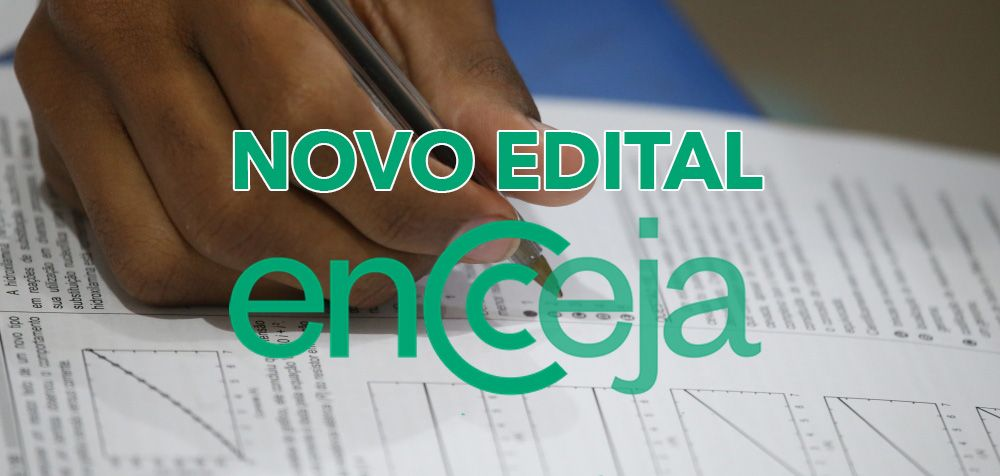 MEC LANÇA NOVO EDITAL do ENCCEJA 2021 com provas já em OUTUBRO