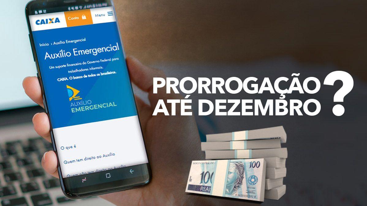 NOVA PRORROGAÇÃO do Auxílio Emergencial terá PAGAMENTOS até DEZEMBRO de 2021