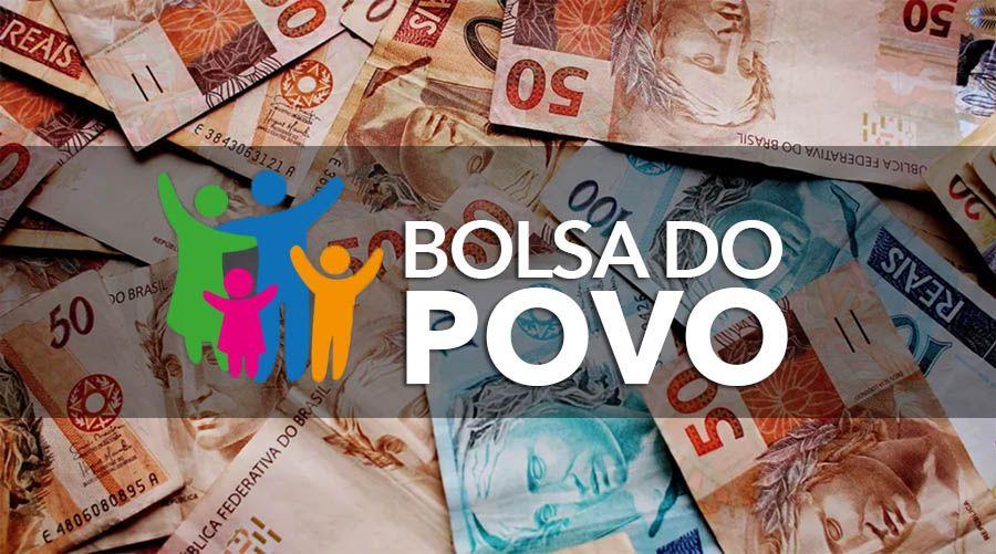 Novo Auxílio Bolsa do Povo tem RODADA de até R$ 500,00