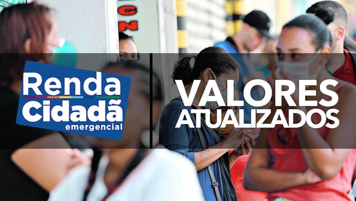 Novos VALORES nos PROGRAMAS Ação Jovem e Renda Cidadã