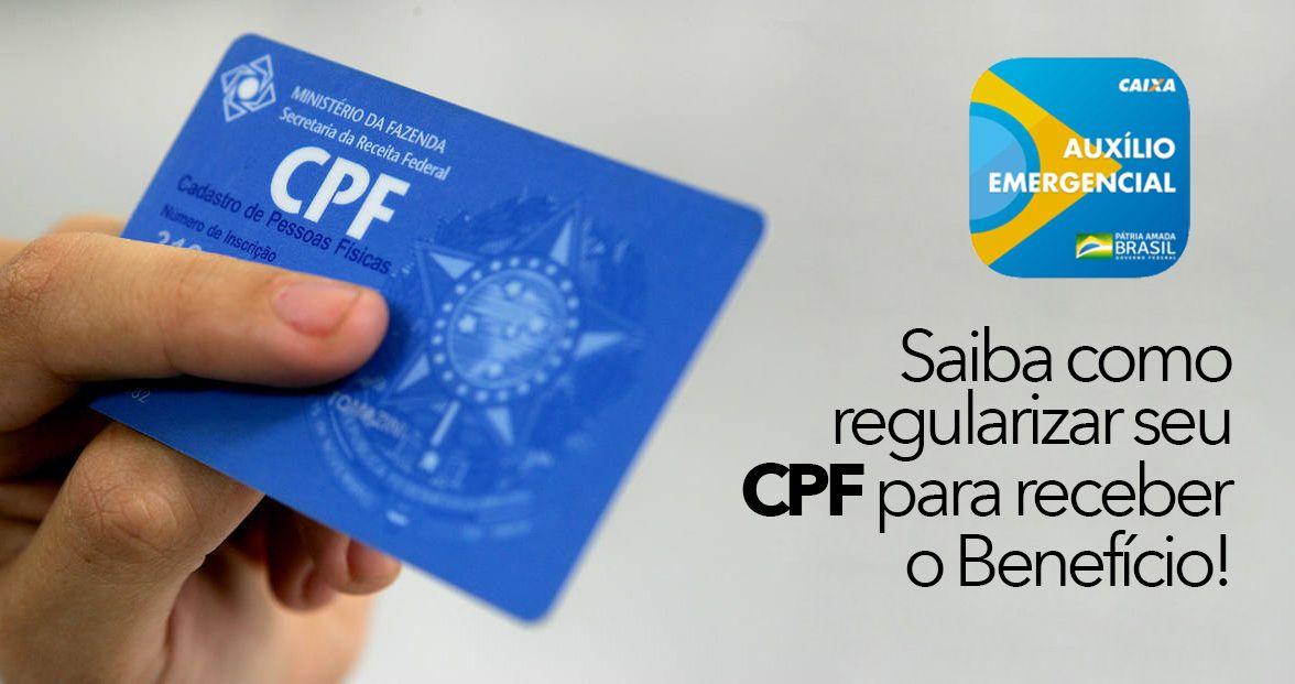 PAGAMENTO do Auxílio CPF REGULAR