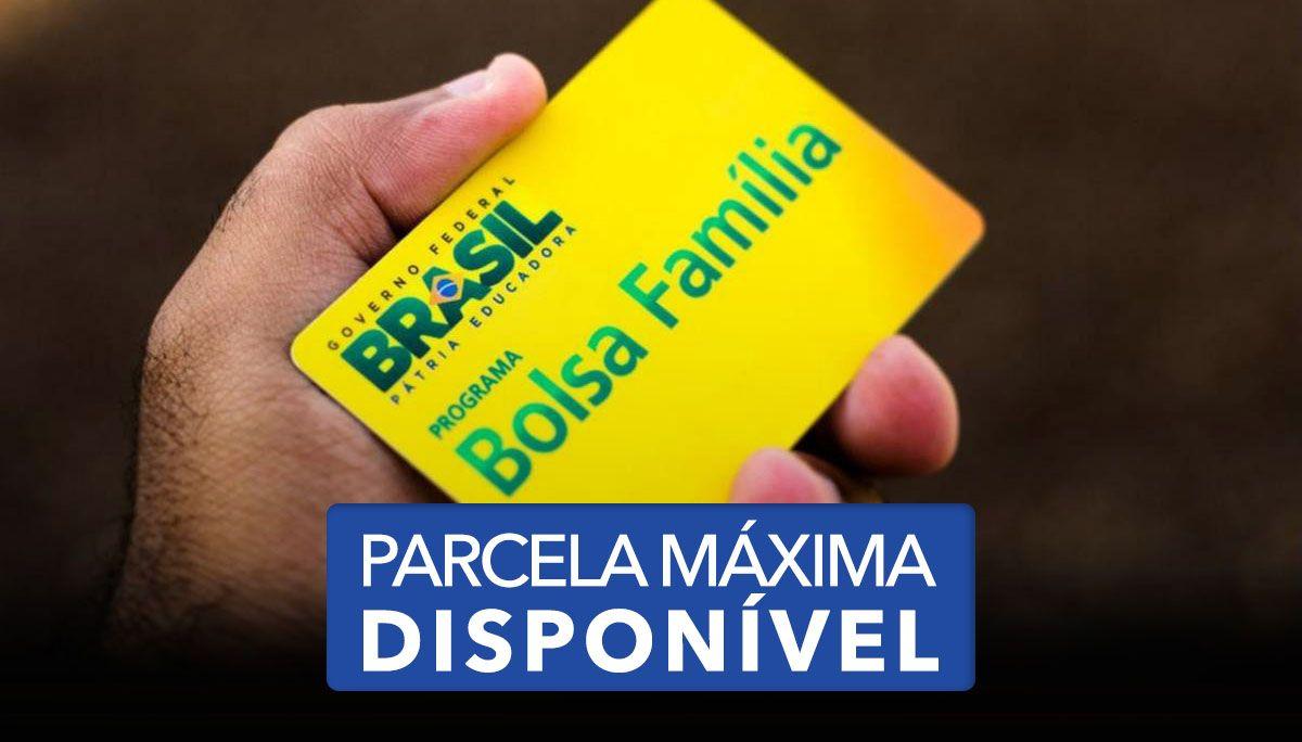 Parcela MÁXIMA do BOLSA FAMÍLIA está DISPONÍVEL