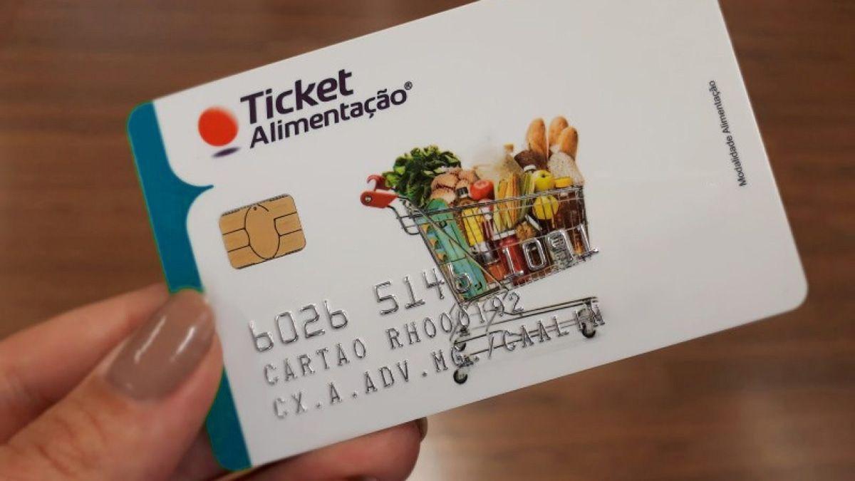 Ticket Alimentação 2021