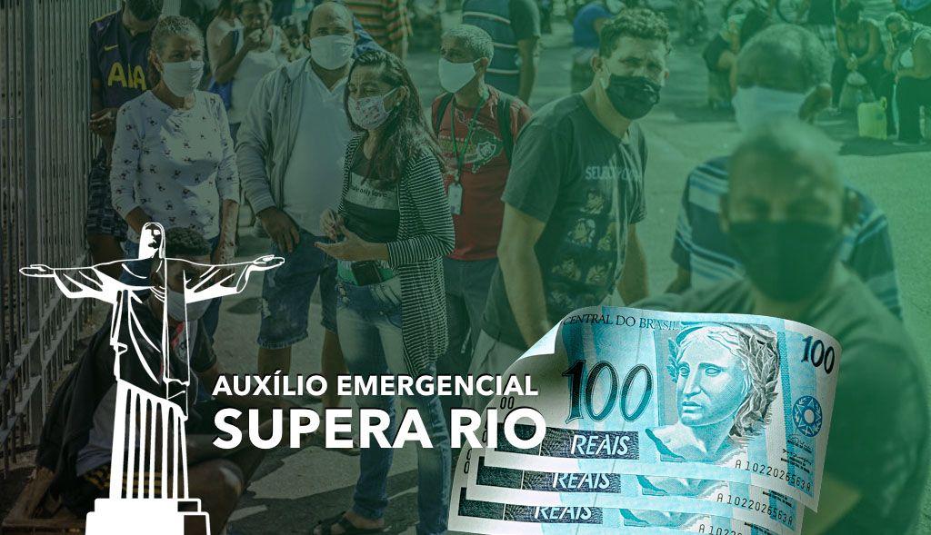 Auxílio Emergencial Supera Rio