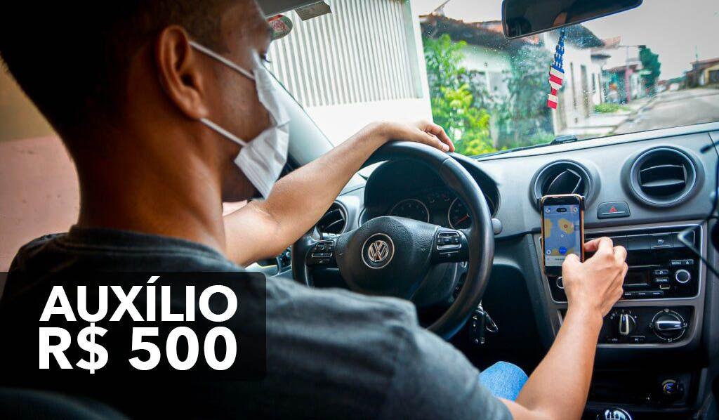 Auxílio para Motoristas de Aplicativos, Taxistas, Vans, Transporte Escolar e Mototaxistas