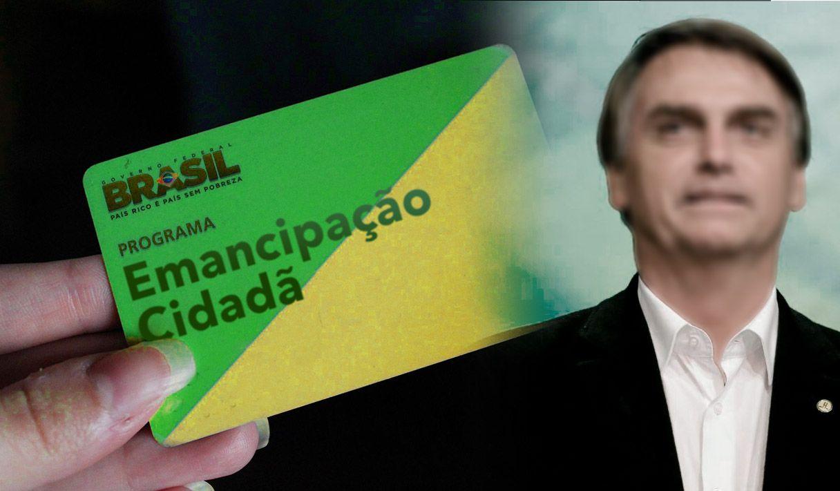 Bolsonaro anuncia Emancipação Cidadã