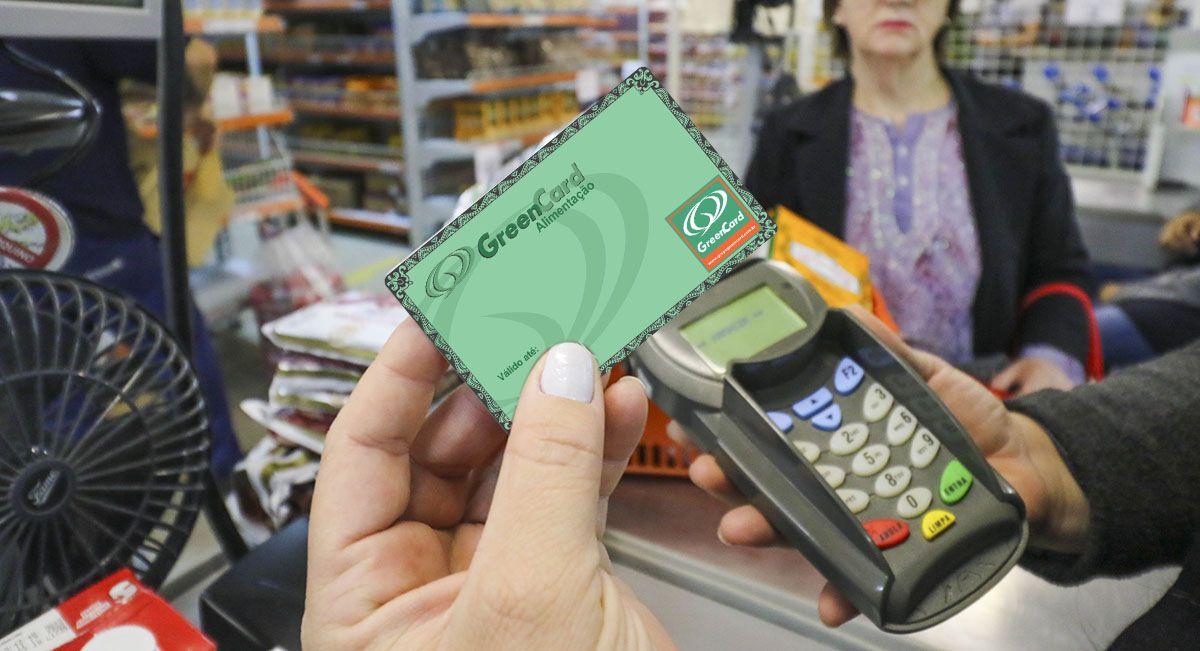 Cadastro Cartão Green Card Alimentação