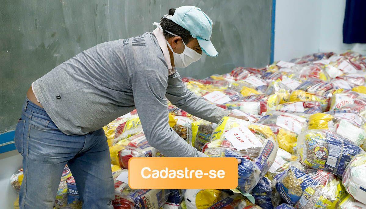 Cadastro Kit-Alimentação para a rede municipal será reaberto na próxima segunda