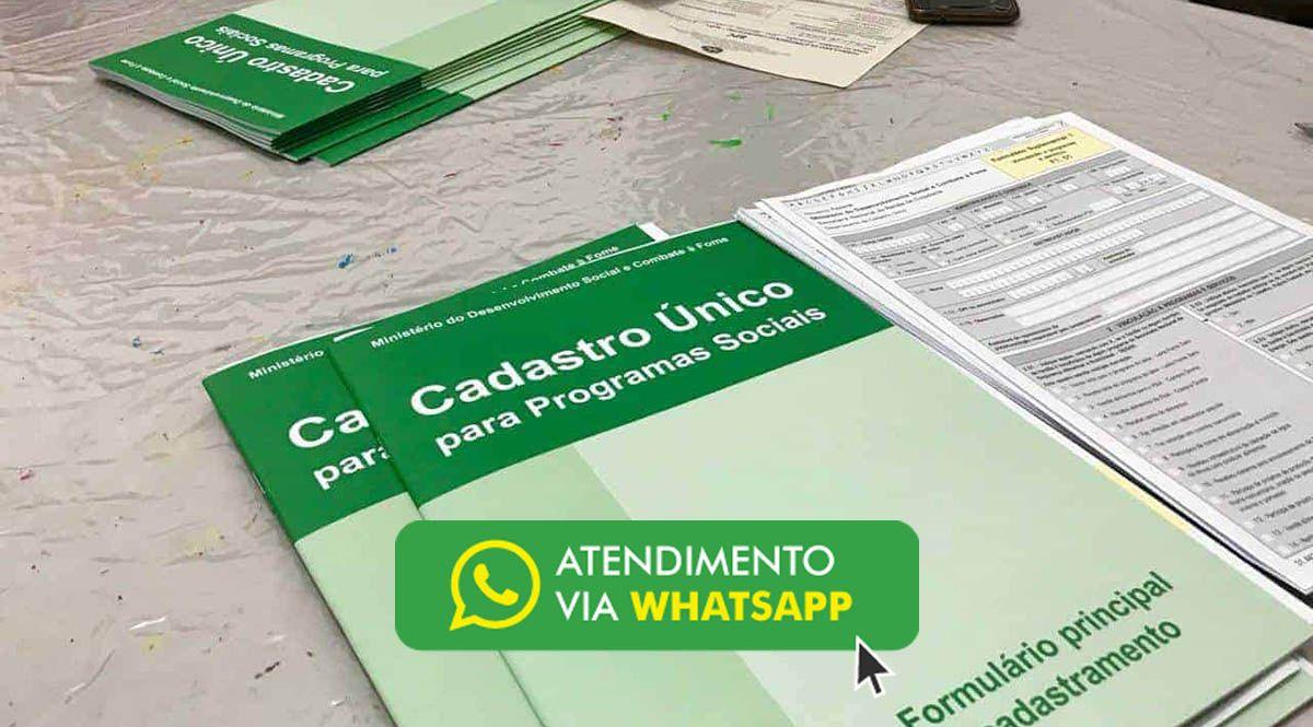 Cadastro Único cria canal de atendimento pelo WhatsApp