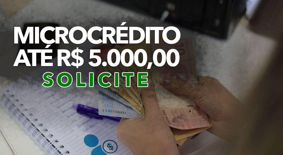 Cadastro de Empresas para NOVO PROGRAMA de Microcrédito em MAIO