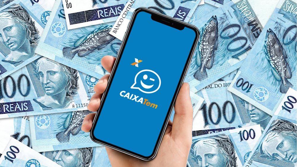 Caixa Tem libera valores de R$100, R$200 e R$300