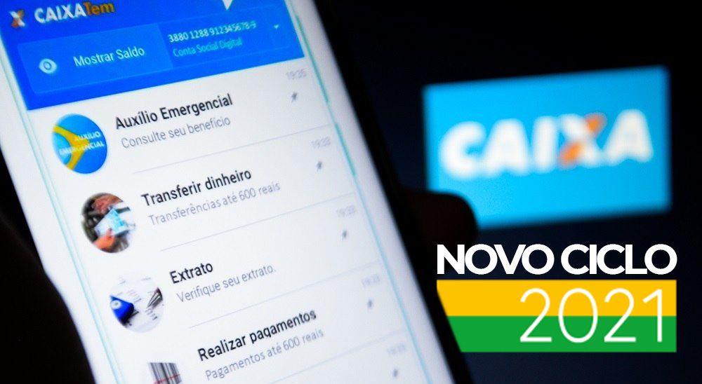 Caixa já tem data para liberar pagamentos do novo ciclo do Auxílio Emergencial