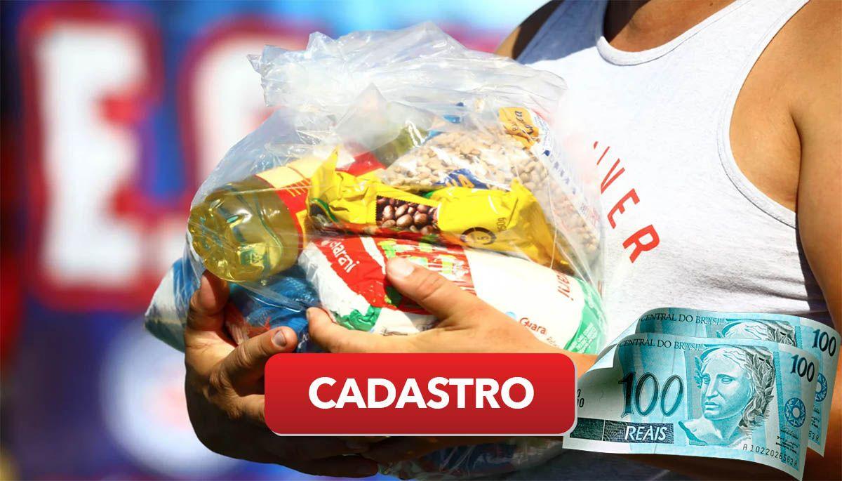 Como acessar e preencher o formulário de cadastro do Auxílio Cesta Básica de R$ 200,00