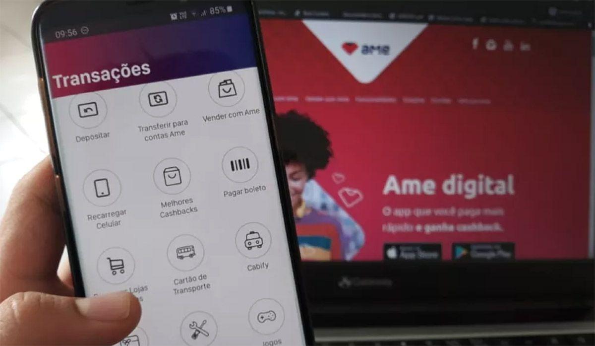 Como ganhar dinheiro com o Aplicativo Ame Digital
