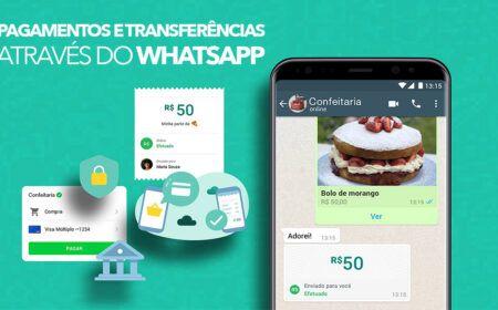 Confira o passo a passo para realizar pagamentos e transferências pelo WhatsApp: Opção está liberada! Veja como cadastrar…