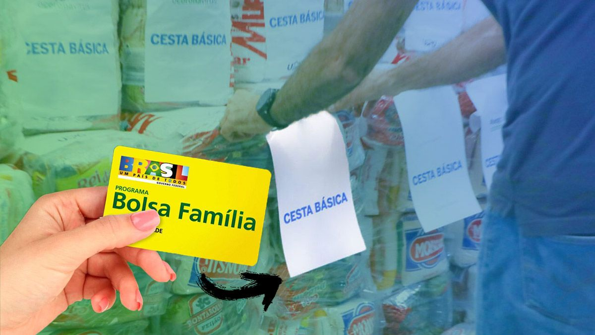Etapa da entrega de Cestas Básicas para inscritos no Bolsa Família começa na próxima semana de maio
