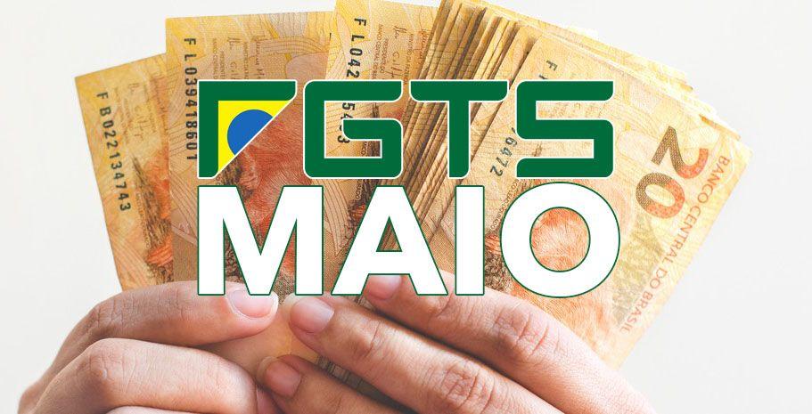 FGTS em MAIO: Caixa divulga CALENDÁRIO COMPLETO