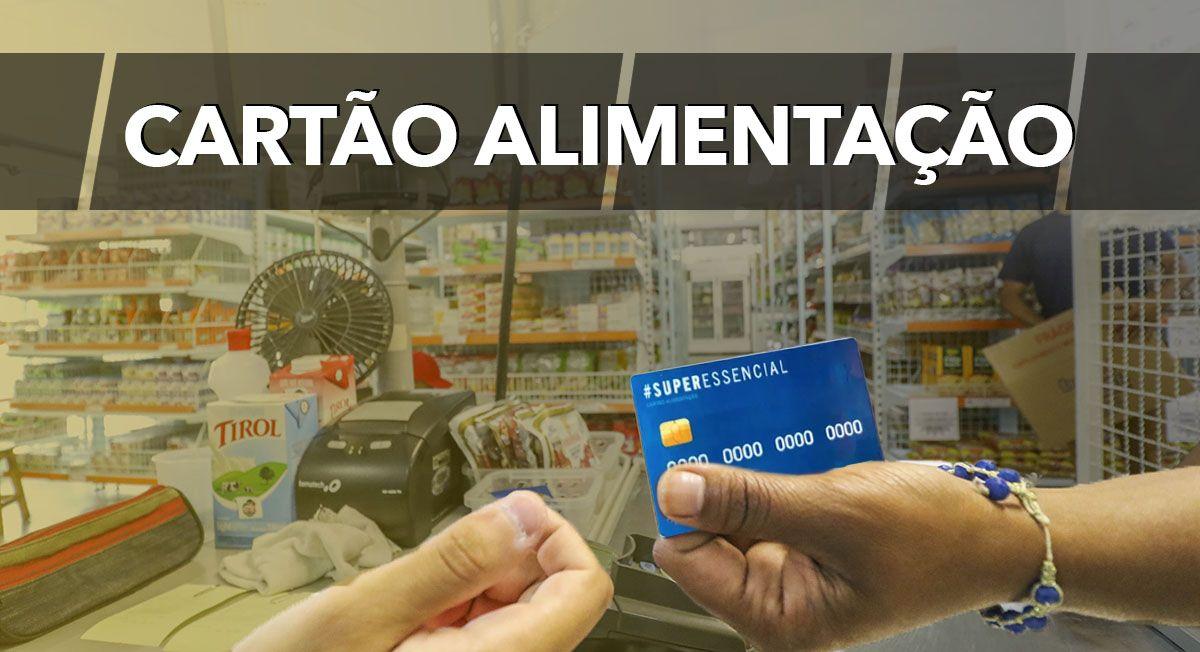 Governo oferece 50 mil cartões alimentação no valor de R$ 100