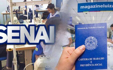 Magazine Luiza e SENAI abrem milhares de vagas de emprego e cursos em todo o Brasil: Veja como se inscrever…