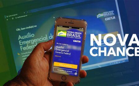 NOVA CHANCE! Veja como SOLICITAR o Auxílio Emergencial em MAIO: Aberto novo prazo para milhares de brasileiros…