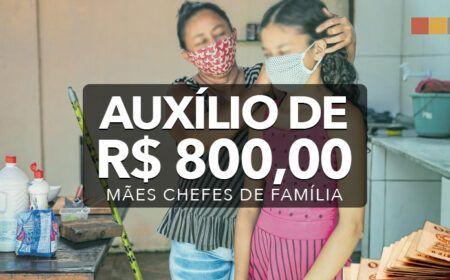 Pagamento do Auxílio de R$ 800,00 começa a partir do dia 17/05: Mães chefes de família já podem consultar as regras para receber o benefício
