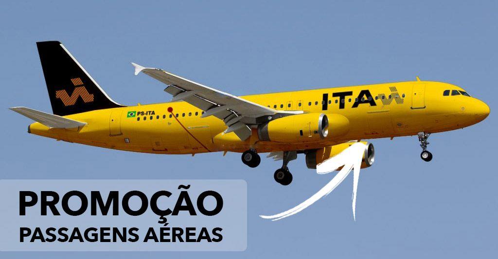 Promoção de Passagens Aéreas VoeIta
