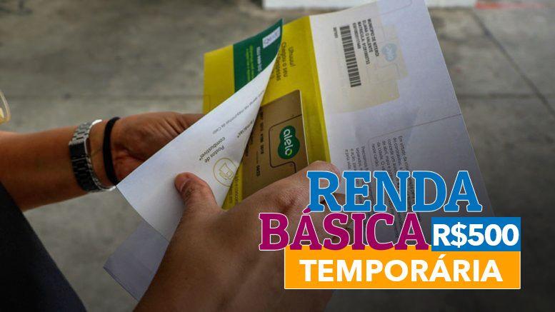 Renda Básica Temporária para famílias com filhos na rede municipal