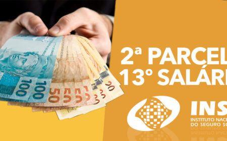 2ª Parcela do 13º começa a ser paga para Aposentados: Extrato de pagamentos e datas estão liberados pelo celular