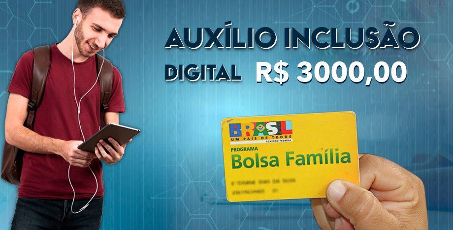 Estudantes inscritos no Bolsa Família têm benefício de R$ 3 mil liberado