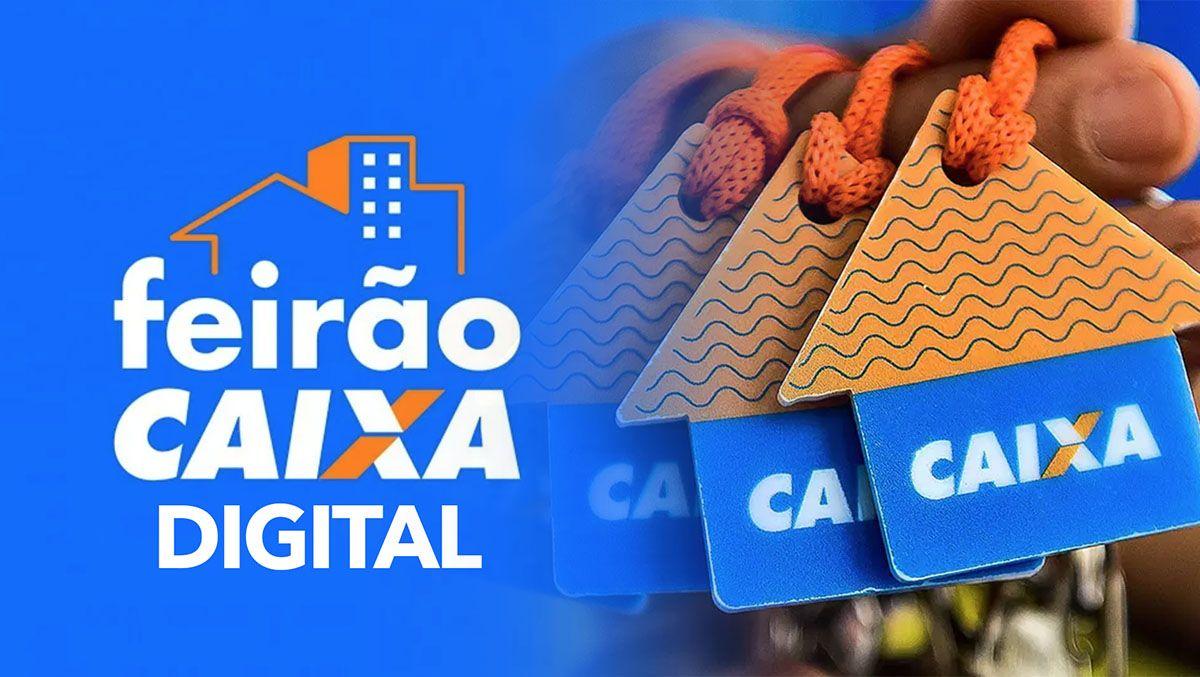 Feirão Digital da Caixa tem imóveis a partir de R$ 12 mil