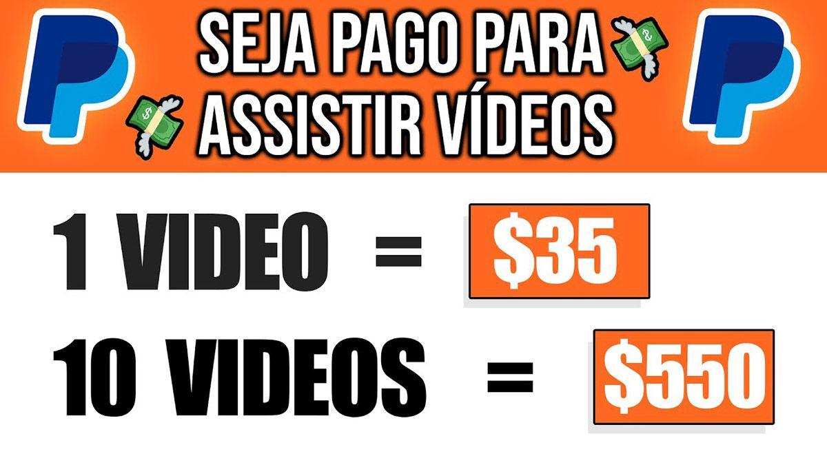 GG2U pagando $35,00 no PayPal por cada vídeo assistido?