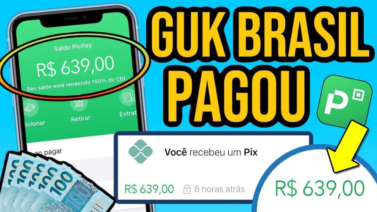 GUK Brasil paga mesmo?