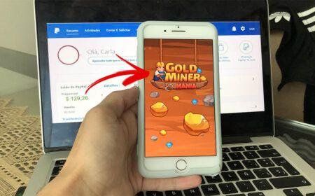 Gold Miner Mania promete pagamentos em Dólar no Paypal: É confiável? Paga mesmo? Veja como sacar