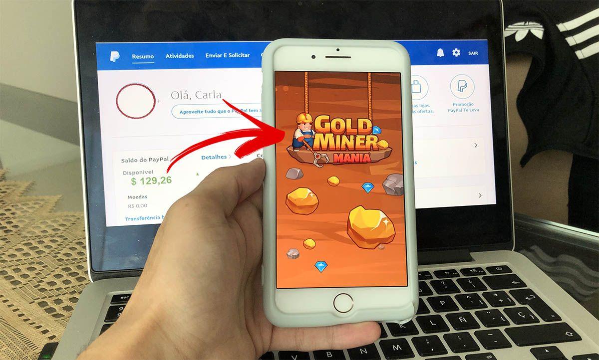 Gold Miner Mania promete pagamentos em Dólar no Paypal