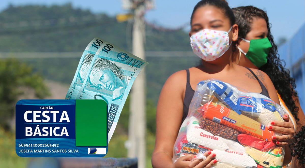 Liberado Novamente! Auxílio Cesta Básica tem novas inscrições para cartão de R$ 200