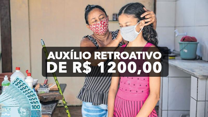Mães chefes de família tem direito a retroativo de R$ 1.200
