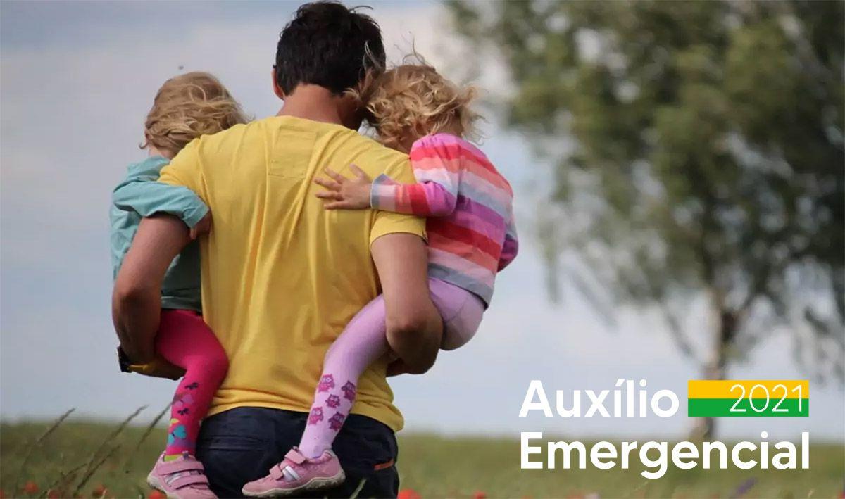 Pai solteiro pode receber 2 cotas de R$ 600,00 do Auxílio Emergencial