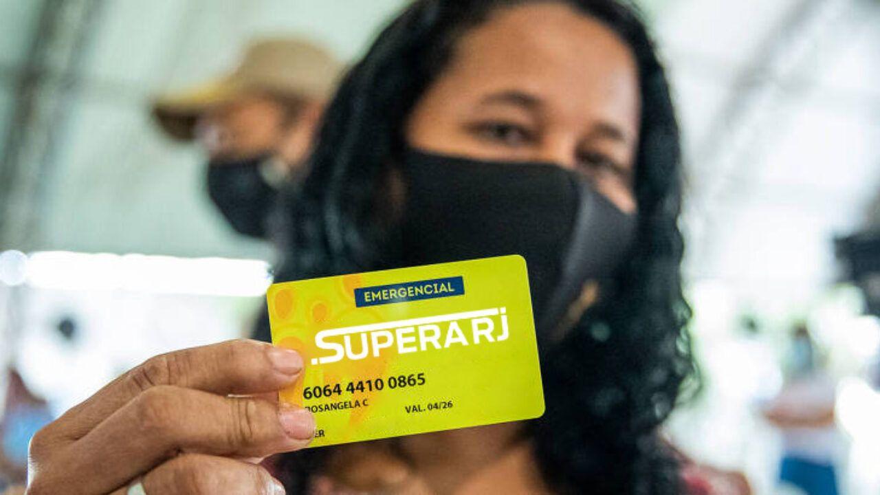 Retirada dos Cartões Supera RJ: Datas, locais e como receber o benefício de  até R$ 300,00